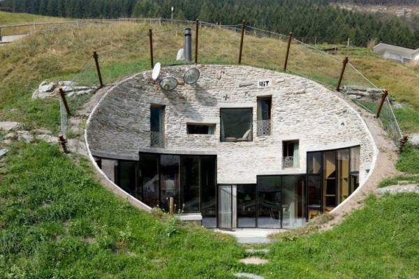 Bunker house.