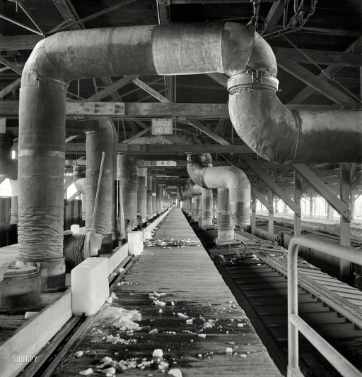 Pre-cooling rail cars.