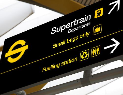 Now boarding: Supertrain.