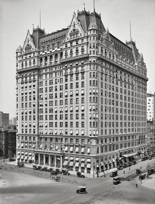 Plaza Hotel: 1912