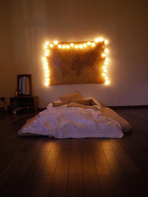 How to sleep on the floor.