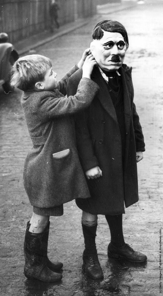 Hitler Mask, 1938.