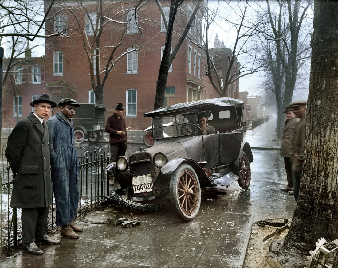 Wreck, 1921.