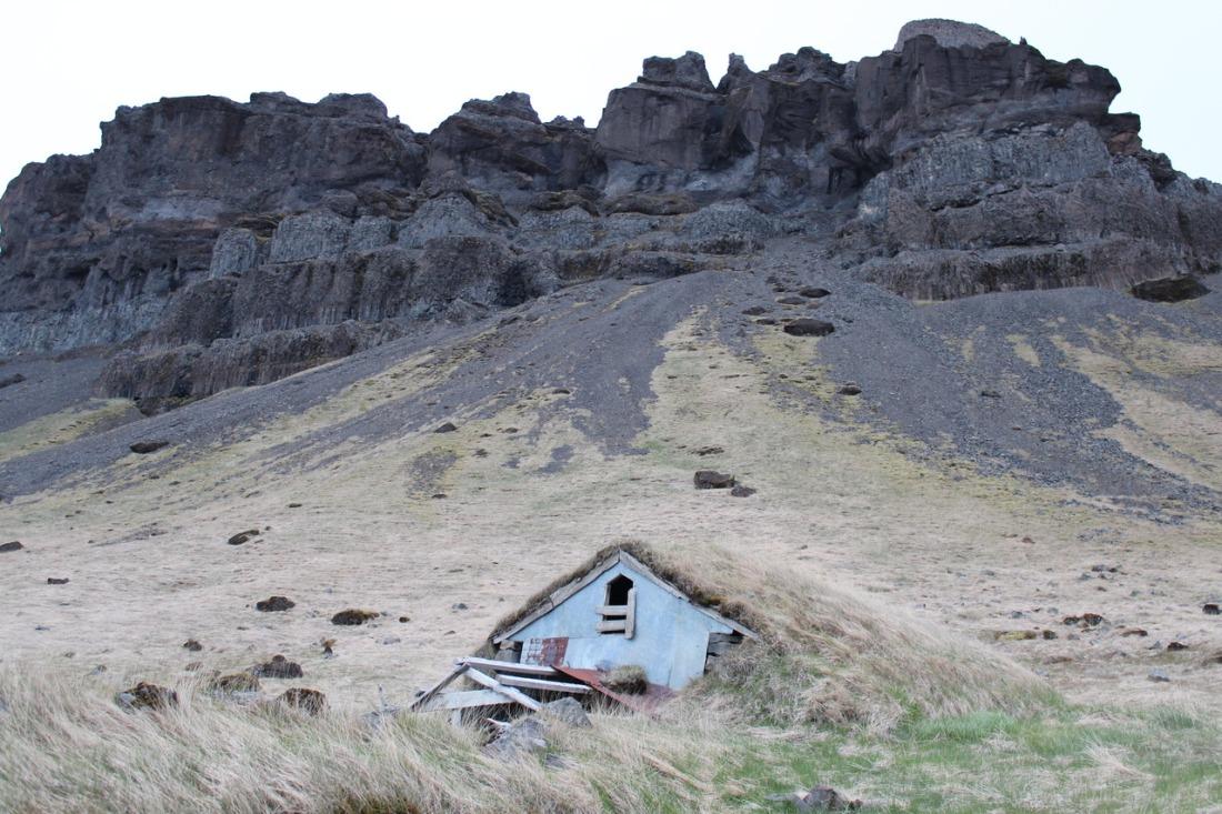 Abandoned shelter.
