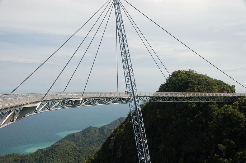 Egregious suspension bridge.
