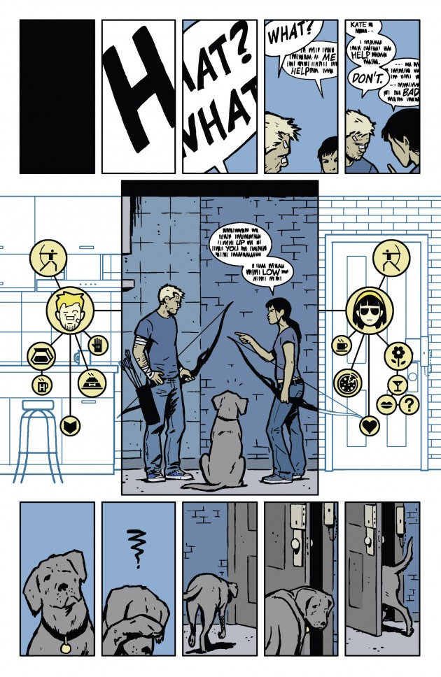 Hawkeye #11 is magnificent.