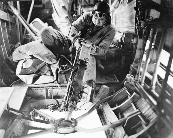 B-24 Gunner.