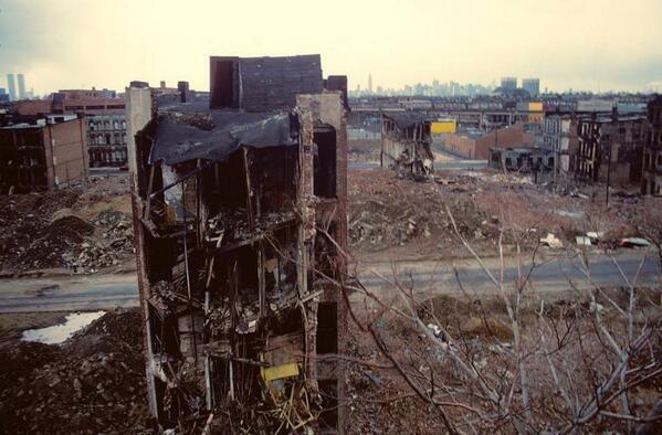Bushwick, 1980.
