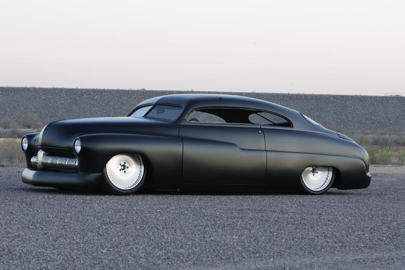 1949 Black Custom Mercury