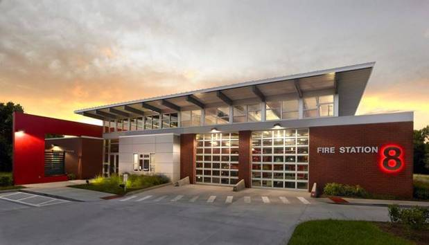 Fire Station 8.